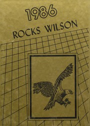 1986 Edition, Wilson High School - Eagle Yearbook (Wilson, OK)