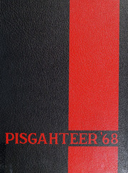 1968 Edition, Pisgah High School - Pisgahteer Yearbook (Canton, NC)