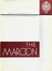 Page 9, 1932 Edition, Fordham University - Maroon Yearbook (New York, NY) online yearbook collection