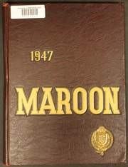 Page 1, 1947 Edition, Fordham University - Maroon Yearbook (New York, NY) online yearbook collection