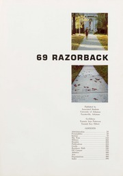 Page 5, 1969 Edition, University of Arkansas Fayetteville - Razorback Yearbook (Fayetteville, AR) online yearbook collection