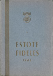 1942 Edition, St Boniface School of Nursing - Estole Fideles Yearbook (St Boniface, Manitoba Canada)