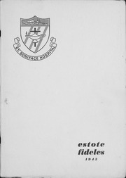 1945 Edition, St Boniface School of Nursing - Estole Fideles Yearbook (St Boniface, Manitoba Canada)