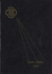 1954 Edition, St Boniface School of Nursing - Estole Fideles Yearbook (St Boniface, Manitoba Canada)
