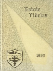 1963 Edition, St Boniface School of Nursing - Estole Fideles Yearbook (St Boniface, Manitoba Canada)