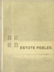 1964 Edition, St Boniface School of Nursing - Estole Fideles Yearbook (St Boniface, Manitoba Canada)