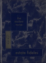 1966 Edition, St Boniface School of Nursing - Estole Fideles Yearbook (St Boniface, Manitoba Canada)