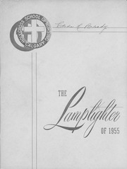 1955 Edition, Holy Cross School of Nursing - Lamplighter Yearbook (Calgary, Alberta Canada)