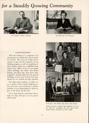 Page 13, 1949 Edition, Mount Lebanon High School - Lebanon Log Yearbook (Pittsburgh, PA) online yearbook collection