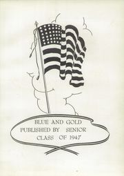 Page 5, 1947 Edition, Foley High School - Blue and Gold Yearbook (Foley, AL) online yearbook collection