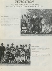 Page 6, 1980 Edition, Valier High School - Northern Lights Yearbook (Valier, MT) online yearbook collection