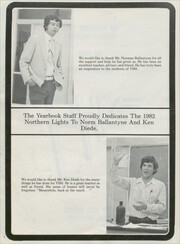 Page 6, 1982 Edition, Valier High School - Northern Lights Yearbook (Valier, MT) online yearbook collection