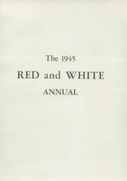 Page 5, 1945 Edition, Iowa City High School - Red and White Yearbook (Iowa City, IA) online yearbook collection