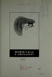 Page 7, 1937 Edition, Richmond High School - Pierian Yearbook (Richmond, IN) online yearbook collection