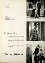 Page 8, 1944 Edition, Richmond High School - Pierian Yearbook (Richmond, IN) online yearbook collection