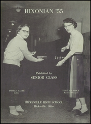 Page 5, 1955 Edition, Hicksville High School - Hixonian Yearbook (Hicksville, OH) online yearbook collection