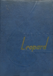 1949 Edition, West Lamar High School - Leopard Yearbook (Lamar County, TX)
