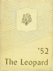 1952 Edition, West Lamar High School - Leopard Yearbook (Lamar County, TX)