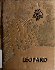 1961 Edition, West Lamar High School - Leopard Yearbook (Lamar County, TX)