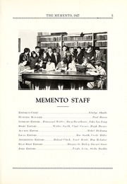 Page 11, 1927 Edition, Chester Center High School - Memento Yearbook (Keystone, IN) online yearbook collection