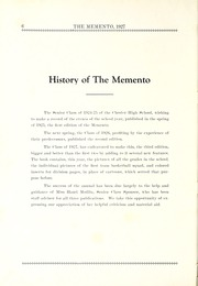Page 12, 1927 Edition, Chester Center High School - Memento Yearbook (Keystone, IN) online yearbook collection