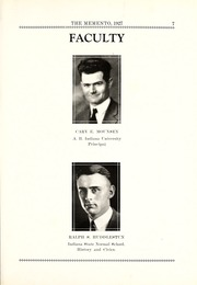 Page 15, 1927 Edition, Chester Center High School - Memento Yearbook (Keystone, IN) online yearbook collection