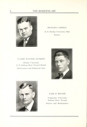 Page 16, 1927 Edition, Chester Center High School - Memento Yearbook (Keystone, IN) online yearbook collection