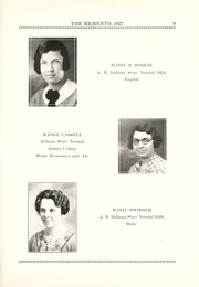 Page 17, 1927 Edition, Chester Center High School - Memento Yearbook (Keystone, IN) online yearbook collection