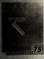 1975 Edition, Petersburg High School - Missile Yearbook (Petersburg, VA)