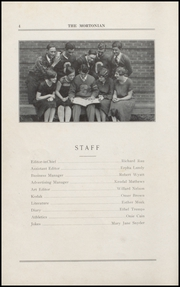 Page 10, 1927 Edition, Centerville Senior High School - Mortonian Yearbook (Centerville, IN) online yearbook collection