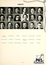 Page 17, 1940 Edition, R L Paschal High School - Panther Yearbook (Fort Worth, TX) online yearbook collection