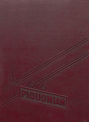 Page 1, 1940 Edition, Piqua Central High School - Piquonian Yearbook (Piqua, OH) online yearbook collection