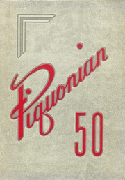 1950 Edition, Piqua Central High School - Piquonian Yearbook (Piqua, OH)