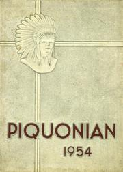 1954 Edition, Piqua Central High School - Piquonian Yearbook (Piqua, OH)