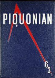 1963 Edition, Piqua Central High School - Piquonian Yearbook (Piqua, OH)