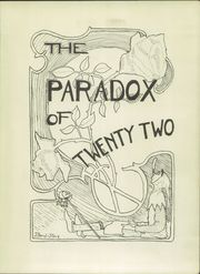 Page 5, 1922 Edition, Oswego High School - Paradox Yearbook (Oswego, NY) online yearbook collection