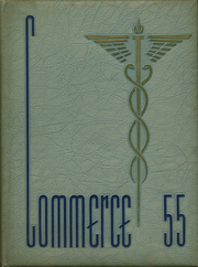 1955 Edition, Worcester High School of Commerce - Caduceus Yearbook (Worcester, MA)