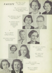 Page 11, 1953 Edition, Central High School - Red and Black Yearbook (Phenix City, AL) online yearbook collection
