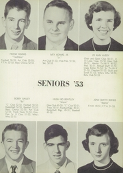 Page 17, 1953 Edition, Central High School - Red and Black Yearbook (Phenix City, AL) online yearbook collection