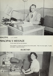 Page 7, 1957 Edition, Saks High School - Saks Echoes Yearbook (Anniston, AL) online yearbook collection