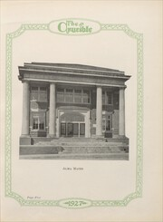 Page 11, 1927 Edition, Gadsden High School - Crucible Yearbook (Gadsden, AL) online yearbook collection