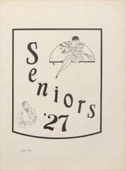 Page 17, 1927 Edition, Gadsden High School - Crucible Yearbook (Gadsden, AL) online yearbook collection