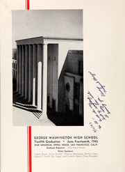 Page 8, 1943 Edition, George Washington High School - Surveyor Yearbook (San Francisco, CA) online yearbook collection