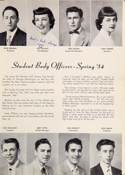 Page 11, 1954 Edition, George Washington High School - Surveyor Yearbook (San Francisco, CA) online yearbook collection