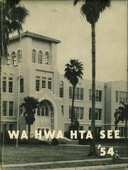 1954 Edition, Winter Haven High School - Wha Hwa Hta See Yearbook (Winter Haven, FL)