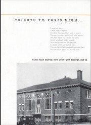 Page 14, 1941 Edition, Paris High School - Arena Yearbook (Paris, IL) online yearbook collection