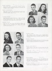 Page 21, 1948 Edition, Paris High School - Arena Yearbook (Paris, IL) online yearbook collection