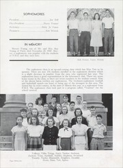 Page 35, 1948 Edition, Paris High School - Arena Yearbook (Paris, IL) online yearbook collection