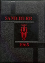 Page 1, 1965 Edition, Thomson High School - Sand Burr Yearbook (Thomson, IL) online yearbook collection