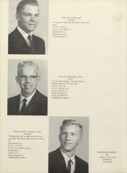 Page 14, 1965 Edition, Thomson High School - Sand Burr Yearbook (Thomson, IL) online yearbook collection